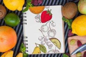 recetas de frutas y verduras